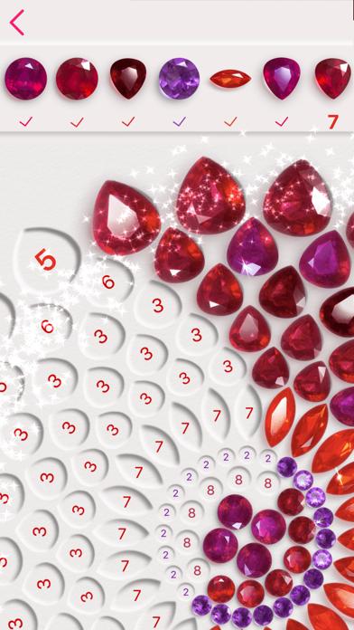 Dazzly - ダイヤモンドアート。 番号による色のおすすめ画像1
