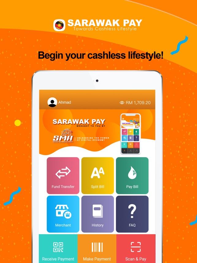 Ini Cara Untuk Daftar Akaun Sarawak Pay Untuk Pengguna, ada RM5 percuma untuk anda!