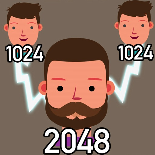 Toon Merge Classic 2048