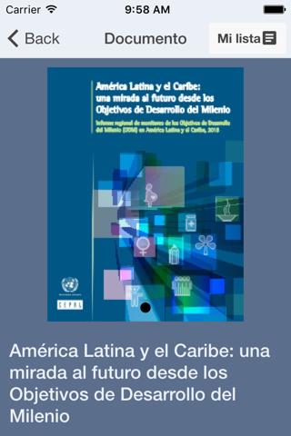 Publicaciones CEPAL - náhled