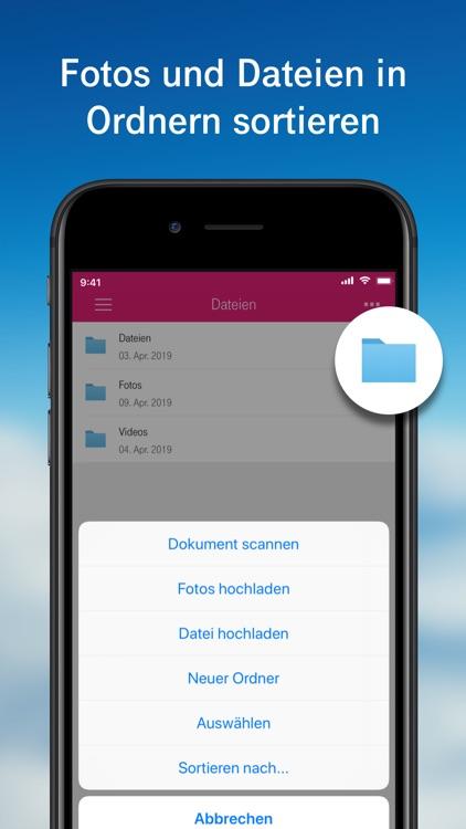 MagentaCLOUD - Cloud Speicher screenshot-3