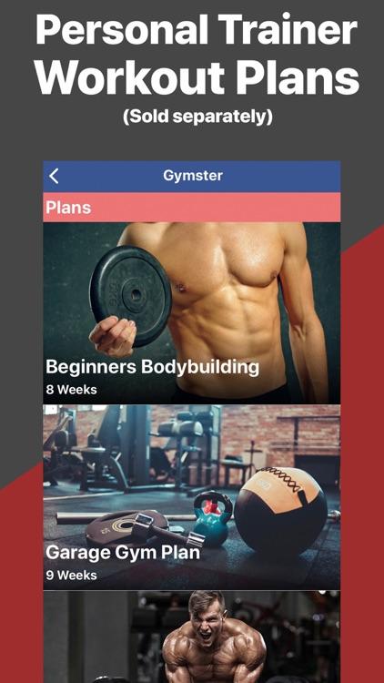 Gymster+ Weight Lifting Log screenshot-5