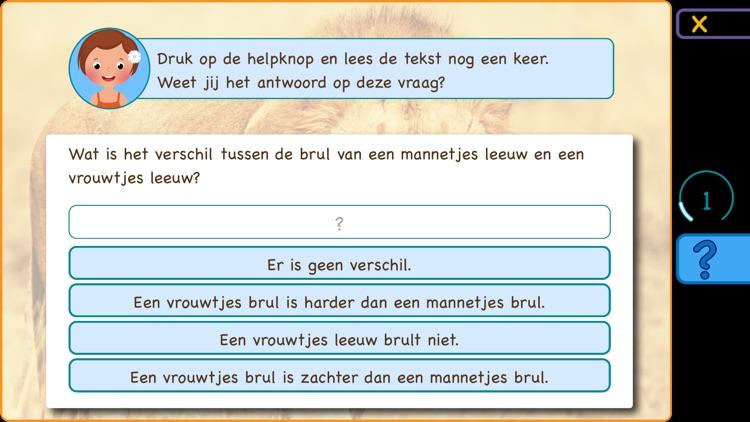 Begrijpend lezen; De savanne screenshot-3