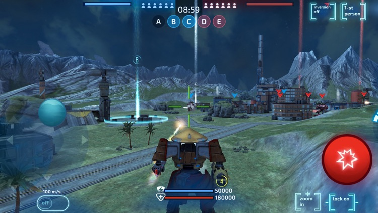Robot Warfare: Mech Battle screenshot-3