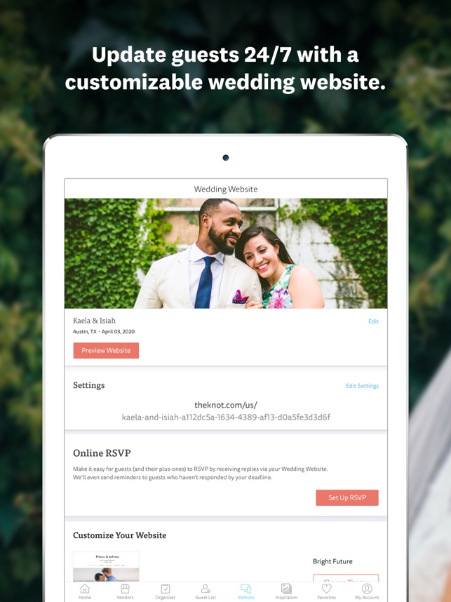 The Knot Wedding Websites.Wedding Planner By The Knot On The App Store
