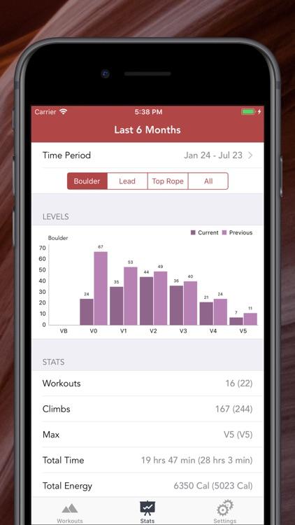 Pinnacle Climb Log screenshot-4