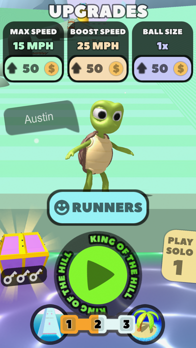 Uphill Run Screenshot 1