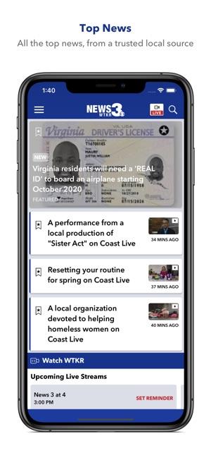 WTKR News 3 on the App Store