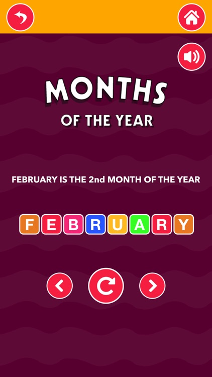 Learn Months And Days screenshot-9