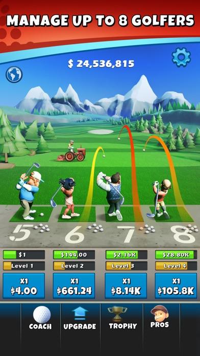 Idle Golf Tycoon screenshot 1