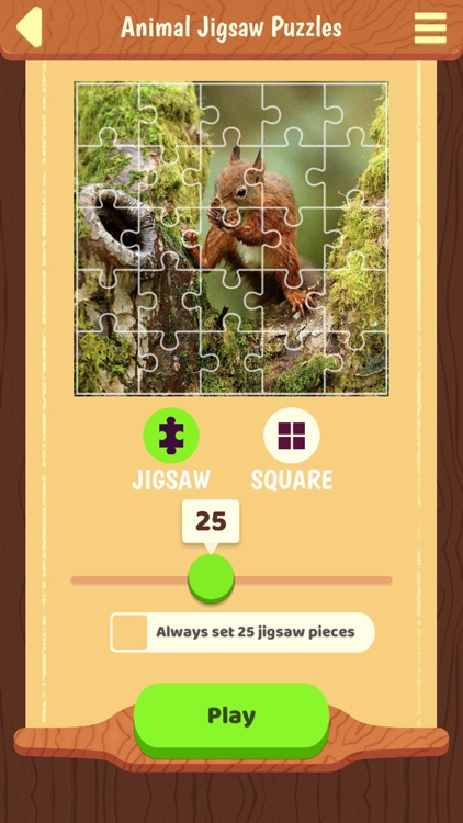 Animal Jigsaw Puzzles Game +