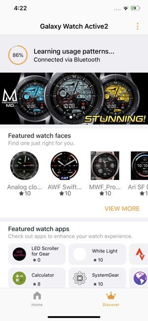 Samsung Galaxy Watch (Gear S) on the App Store