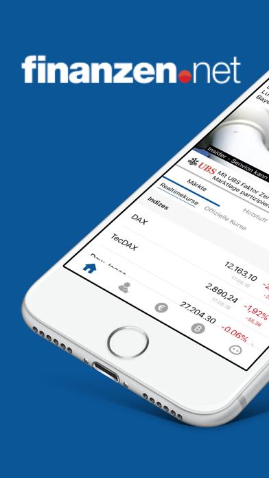 Börse & Aktien - finanzen.net screenshot one