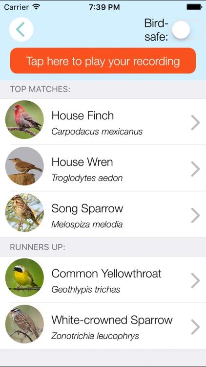 ChirpOMatic USA - Bird Song ID screenshot-0