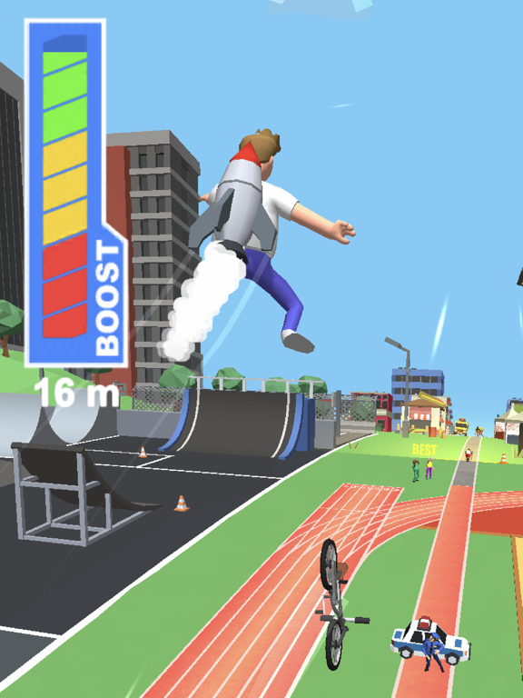 Bike Hop: Crazy BMX Jump 3Dのおすすめ画像2