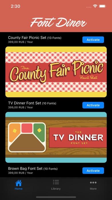 Font Dinerのおすすめ画像5