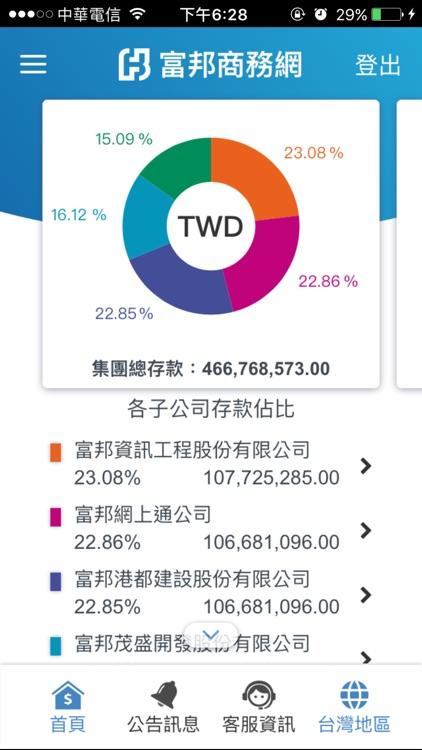 富邦行動商務 screenshot-3