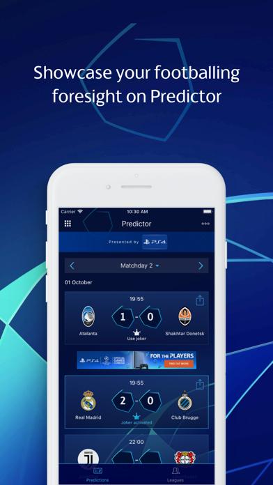 UEFA Champions League: Gaming screenshot four