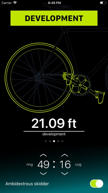 Chainring: Bicycle Gear Calc screenshot-3
