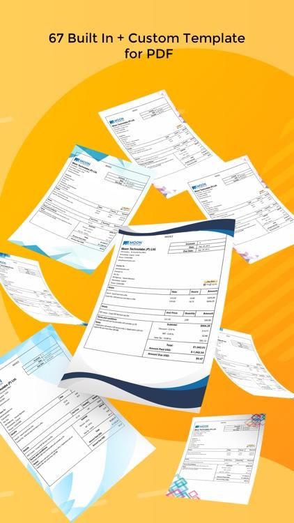 Moon Invoice – Easy Invoicing screenshot-5