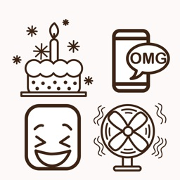 Fun Animated Icon Sticker
