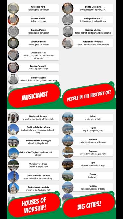 ITALY & PASTA Quiz screenshot-3