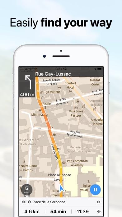 Guru Maps review screenshots
