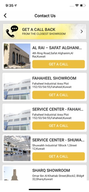 Chevrolet Alghanim on the App Store