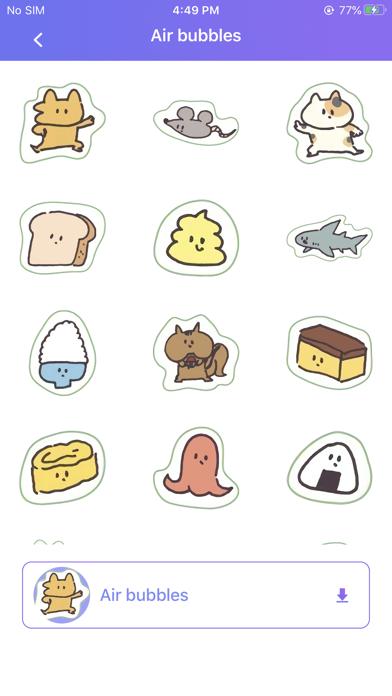 Fun chart stickers screenshot 2