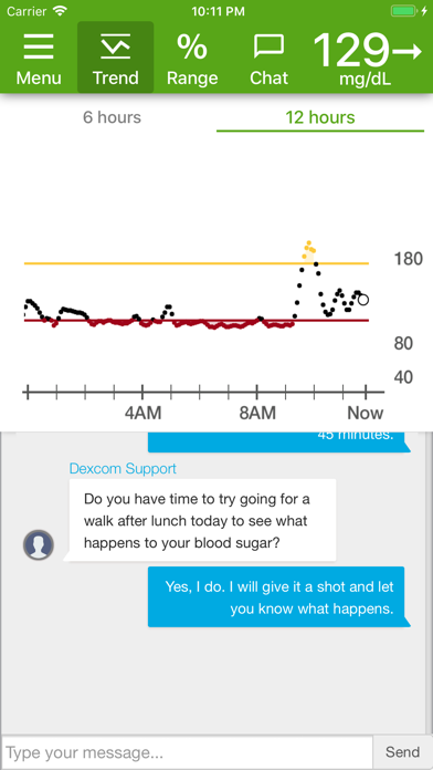 cancel Dexcom Glucose Program App app subscription image 1