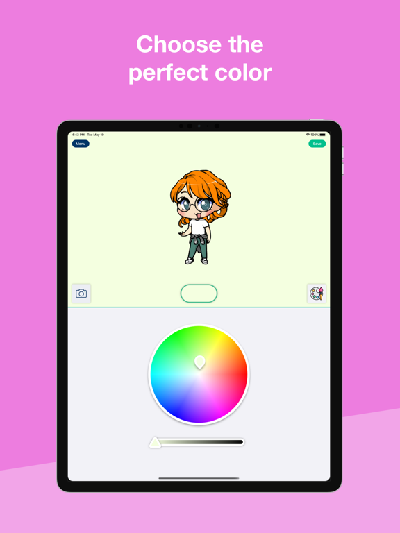 iPad Image of My Chibi - Widget game