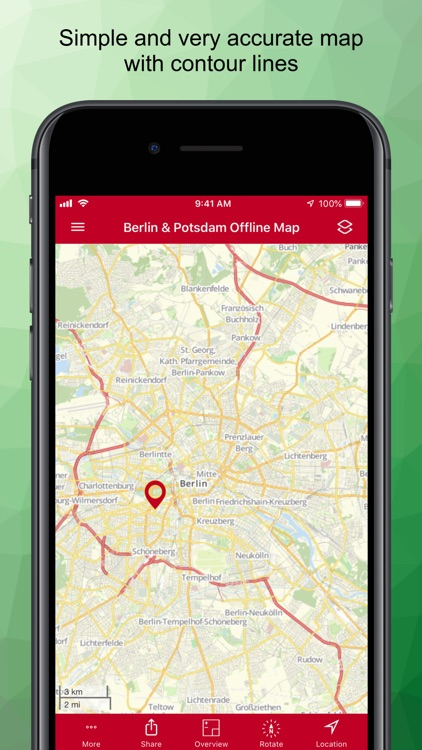 Berlin & Potsdam Offline Map