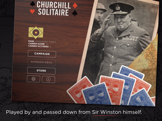 Churchill Solitaire screenshot