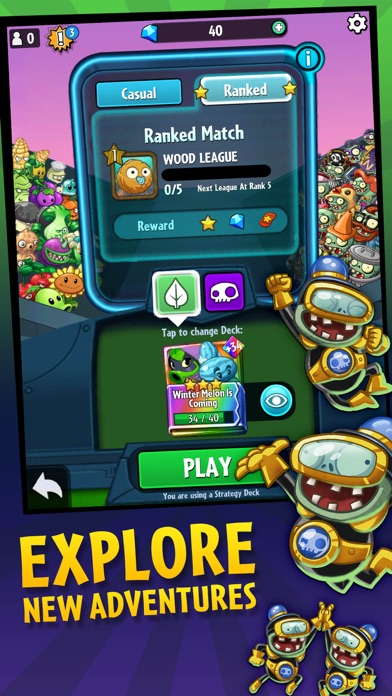 Plants vs. Zombies™ Heroes for windows pc