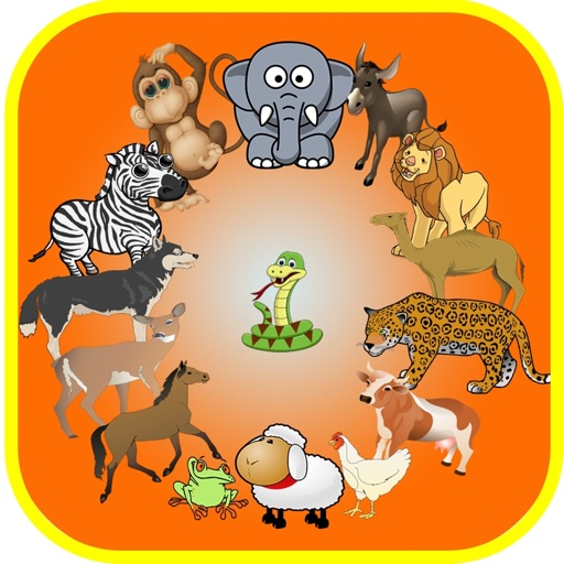 Sound Flash Cards of Animals iOS App