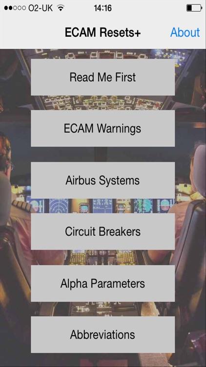 Airbus ECAM Resets+