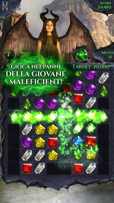 Screenshot of Maleficent Lampi di Gemme2