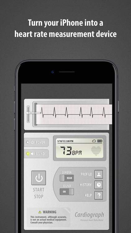 Cardiograph Classic screenshot-0