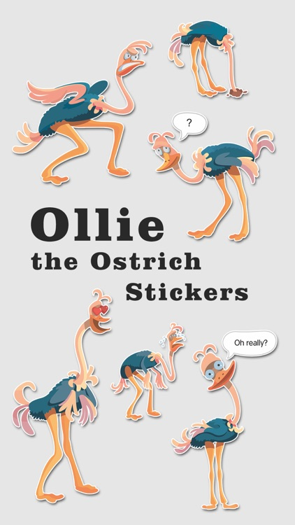 Ollie the Ostrich