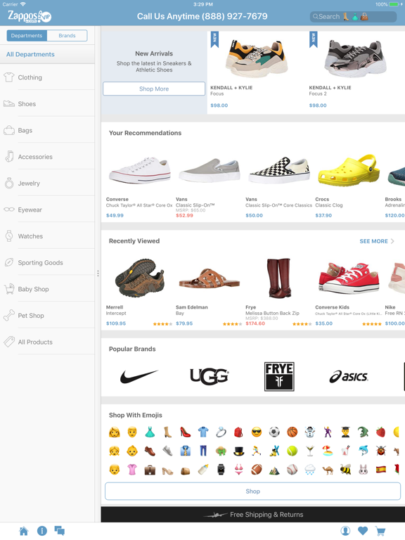 Zappos: Shop shoes & clothes. Fast & free shipping always. screenshot