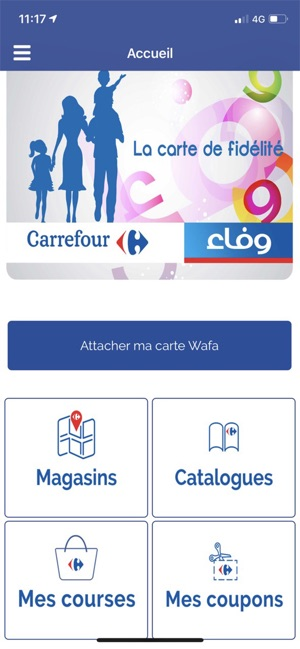 Carte Wafa Carrefour.Carrefour Tunisie On The App Store