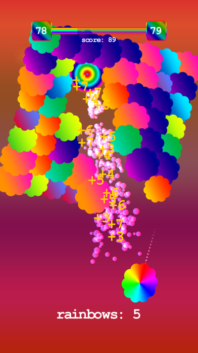 Rainbow Hit screenshot #2