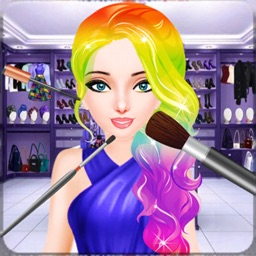 Rainbow Princess Makeup Dress