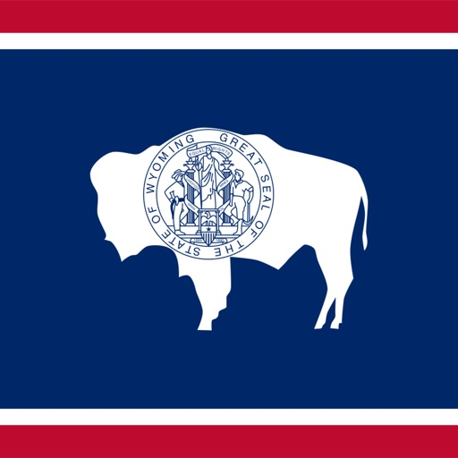 Wyoming emoji - USA stickers