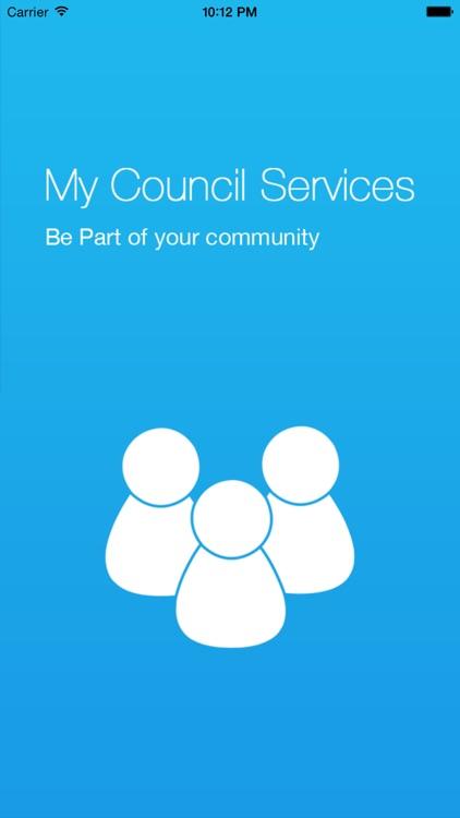 AU My Council Services