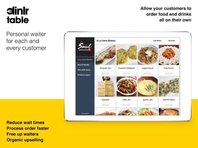 Dinlr Table - Self-Order F&B on the App Store