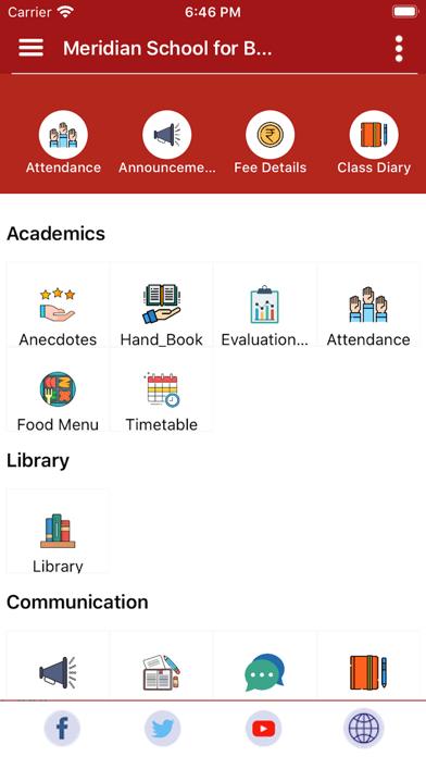 Meridian School Hyderabad screenshot 1