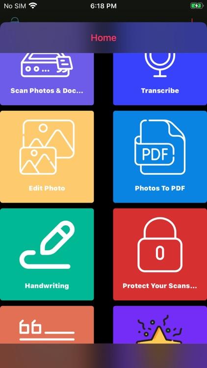 Scanner: Transcribe & Camera screenshot-3
