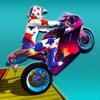 自行车特技游戏:摩托车特技司机2019