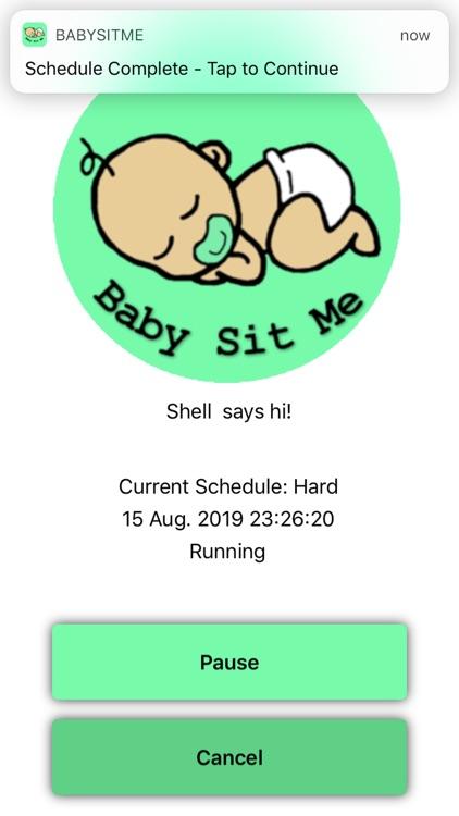 BabySitMe screenshot-8
